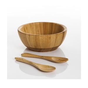 Bambusová sada misky a príboru Babilo