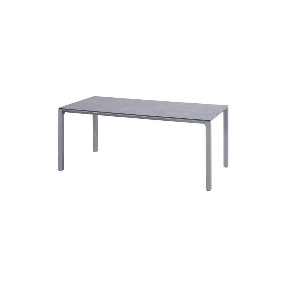 Svetlosivý záhradný stôl Hartman Victorio, 180 × 90 cm
