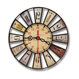 Nástenné hodiny Double, 30 cm