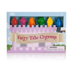 Sada 6 voskoviek v tvare rozprávkových postáv npw™ Fairy Tale