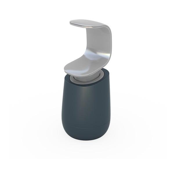 Sivý dávkovač mydla Joseph Joseph C-Pump, 237 ml