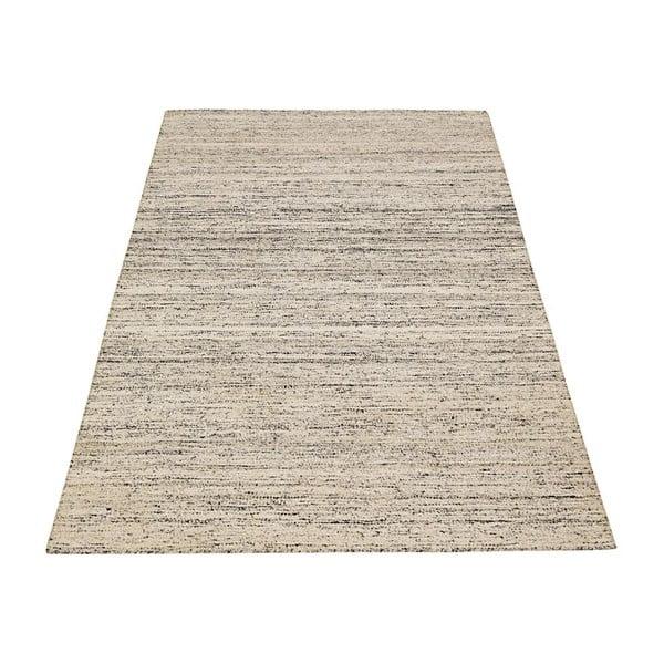 Ručne tkaný koberec Kilim Sari Silk Ivory, 155x240 cm