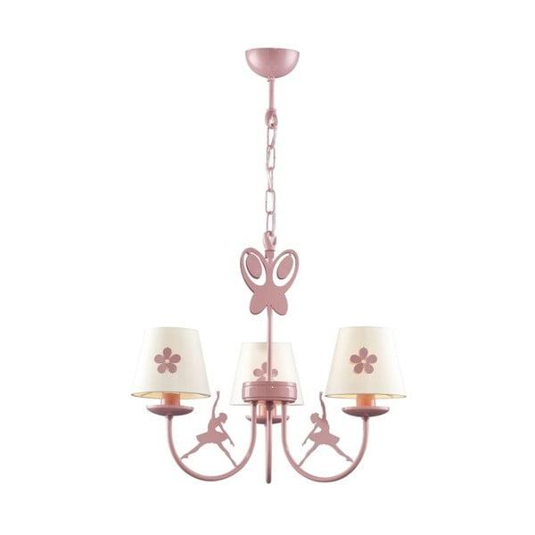 Ružové závesné svietidlo Avoni Lighting Kids Room