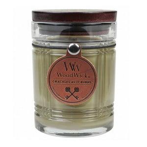 Sviečka s vôňou vanilky Woodwick Antique, doba horenia 50 hodín