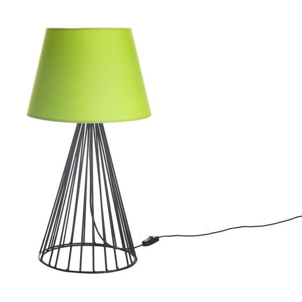 Stolná lampa Wiry Lime/Black