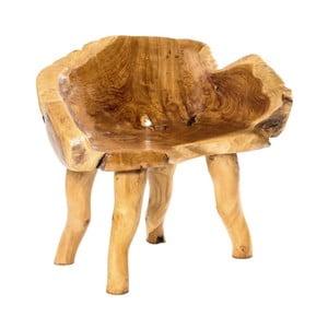 Záhradné kreslo z teakového dreva Massive Home Lisa Thompson