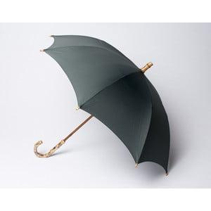Bambusový dáždnik Gents, sivý