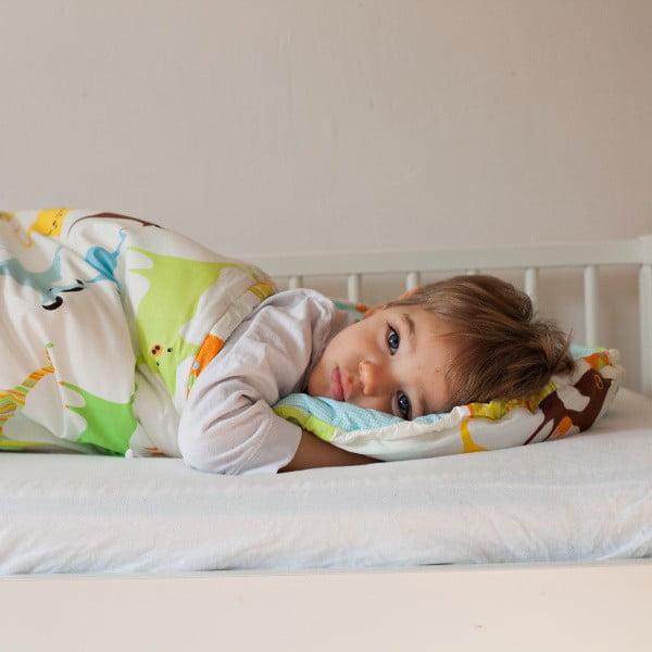 Detský spací vak Bartex Farebné zvieratká, 70×200cm