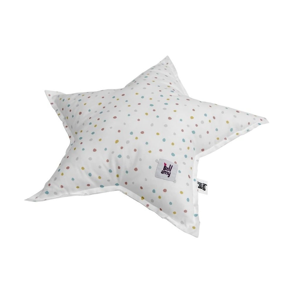 Detský bavlnený vankúš v tvare hviezdy BELLAMY In the woods