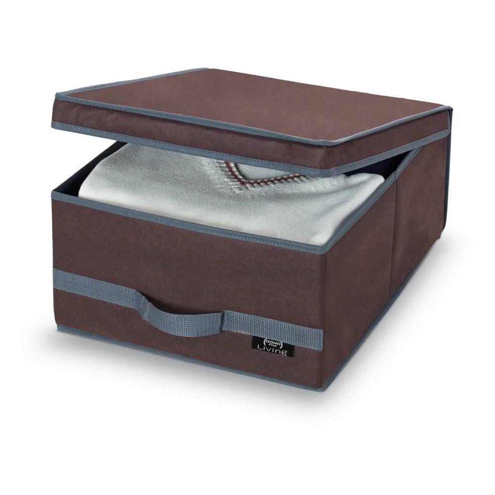 e0959884d Hnedý úložný box Domopak Living, 18 × 45 cm
