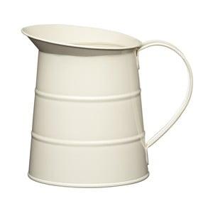 Krémový džbán na vodu Kitchen Craft Living Nostalgia, 1,1l