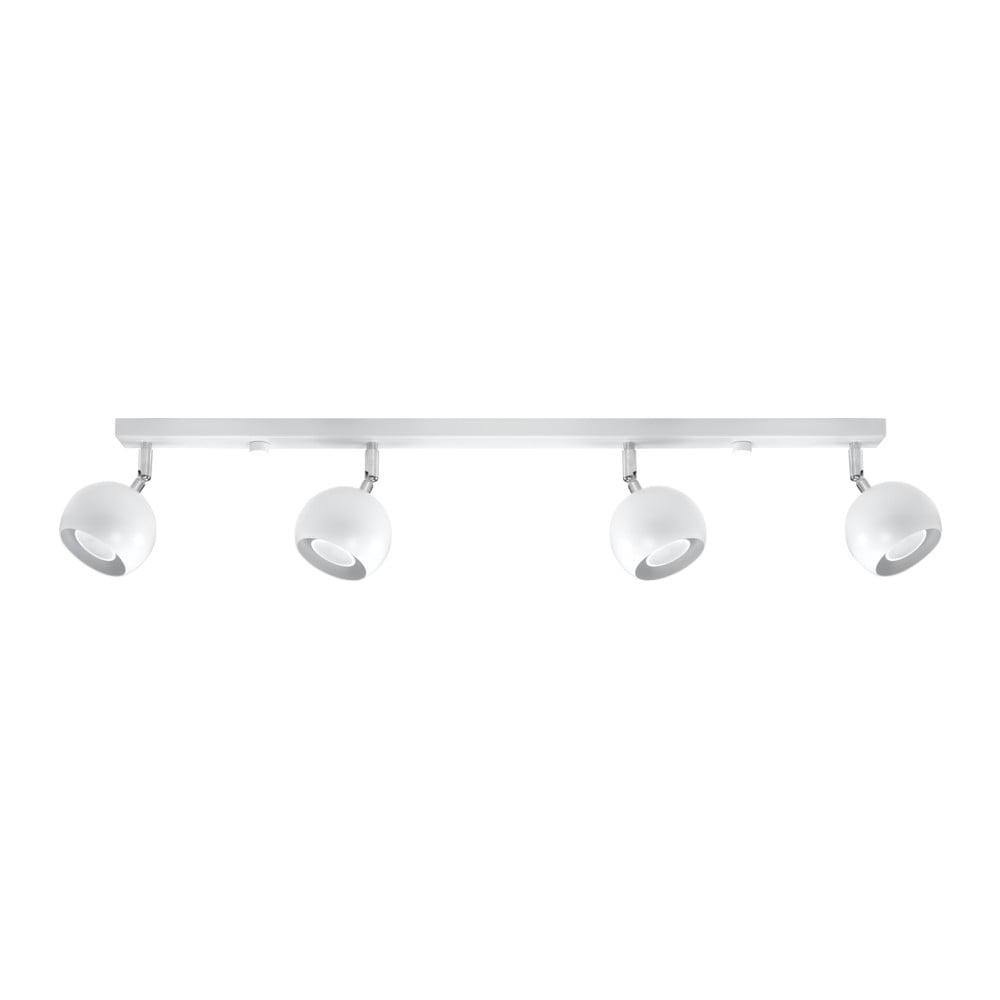 Biele stropné svietidlo Nice Lamps Ollo Quatro
