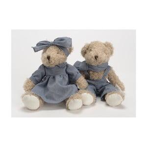 2 plyšové medvedíky Amadeus Jasmin a Jasmine