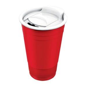 Hrnček Fun Party Cup, červený