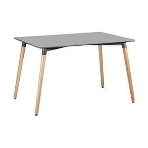 Sivý jedálenský stôl Leitmotiv Elementary
