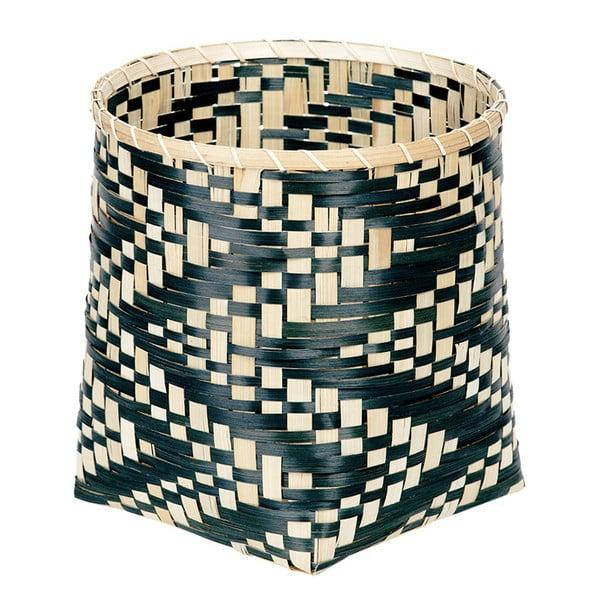 Bambusový košík a'miou home Biksakki, ⌀ 26 cm