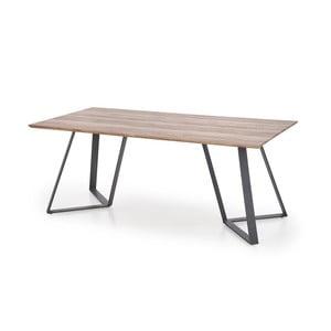 Jedálenský stôl v dekore orechového dreva Halmar Proton, 180 x 90 cm
