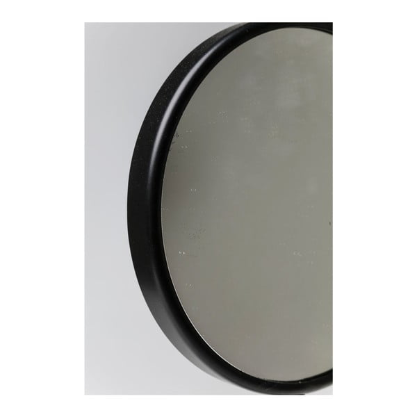Zrkadlo s mramorovým podstavcom Kare Design Bung, Ø 20 cm