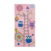 Ružový koberec Think Rugs Hong Kong Pinkie, 70×140cm