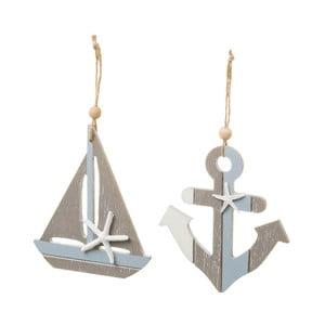 Sada 2 dekorácií Unimasa Sailor