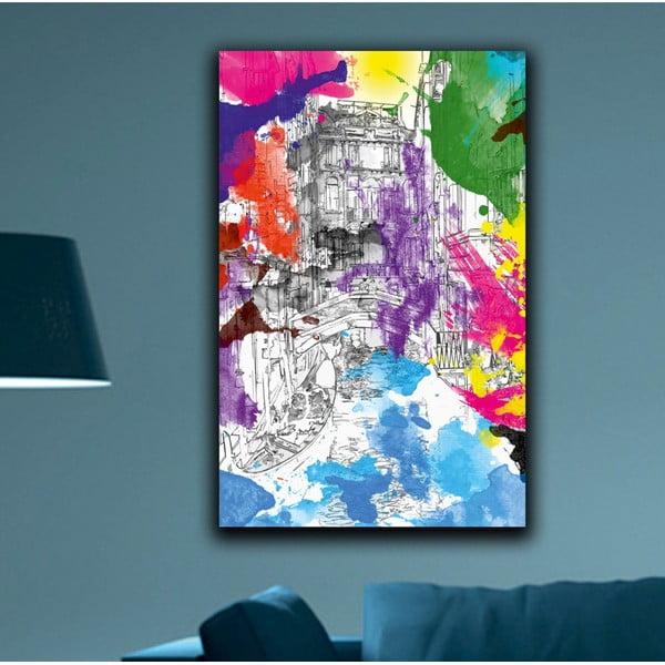 Obraz Dúhové Benátky, 45 x 70 cm