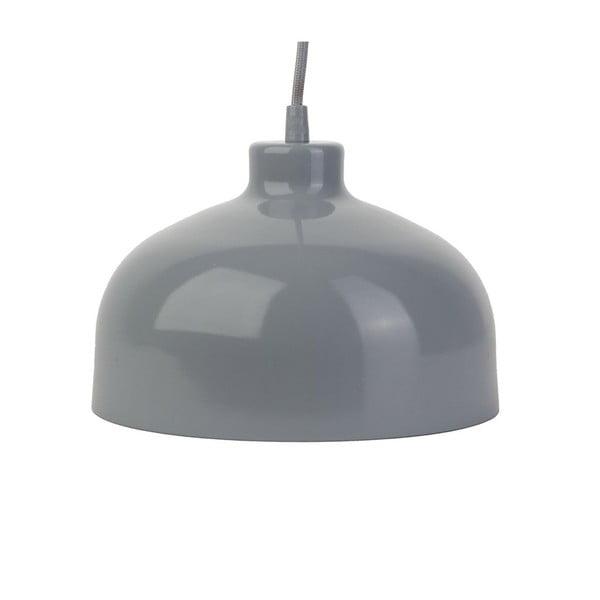 Sivé stropné svetlo Loft You B&B, 33 cm