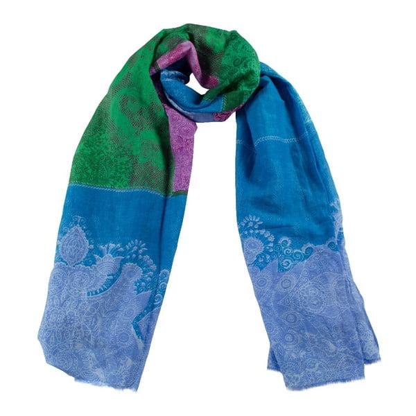 Šatka Maranda Blue/Green