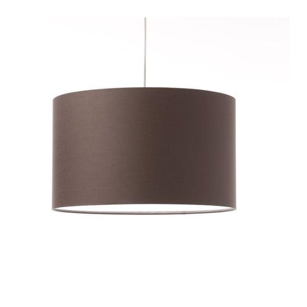 Hnedé stropné svetlo 4room Artist, variabilná dĺža, Ø 42 cm