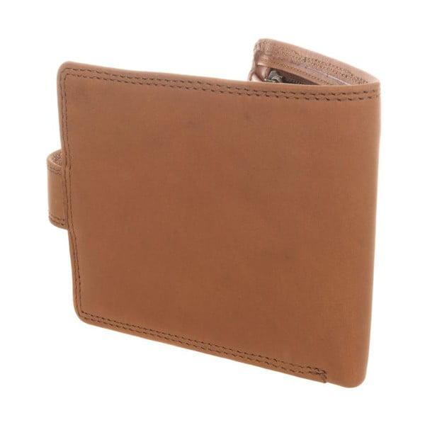 Kožená peňaženka Theo Natural Veg