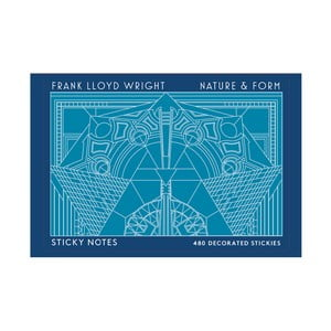 Set bločkov Galison Mudpuppy Frank Lloyd Wright Nature & Form
