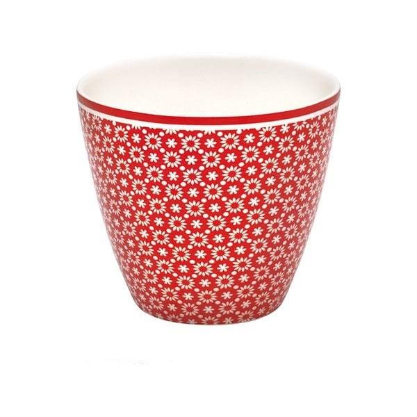 Hrnček Latte Lina Red, 0,3 l