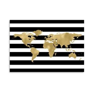 Plagát Americanflat Black & White World, 42 x 30 cm