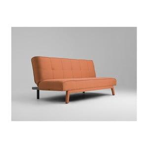 Oranžová rozkladacia dvojmiestna pohovka Custom Form Modes