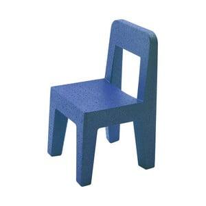 Detská modrá stolička Magis soggiolina Pop