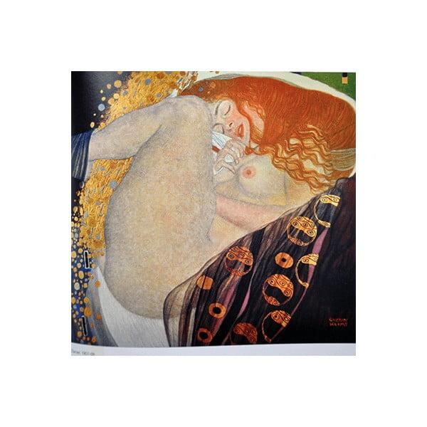 Obraz Gustav Klimt - Danae, 40x40 cm