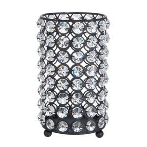 Svietnik Glass Ball Gliter, 12x18 cm