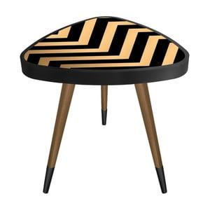 Príručný stolík Maresso Zig Zag Triangle, 45 × 45 cm