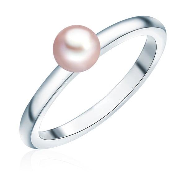 Prsteň s perlou Nova Pearls Copenhagen Fló, veľ. 52