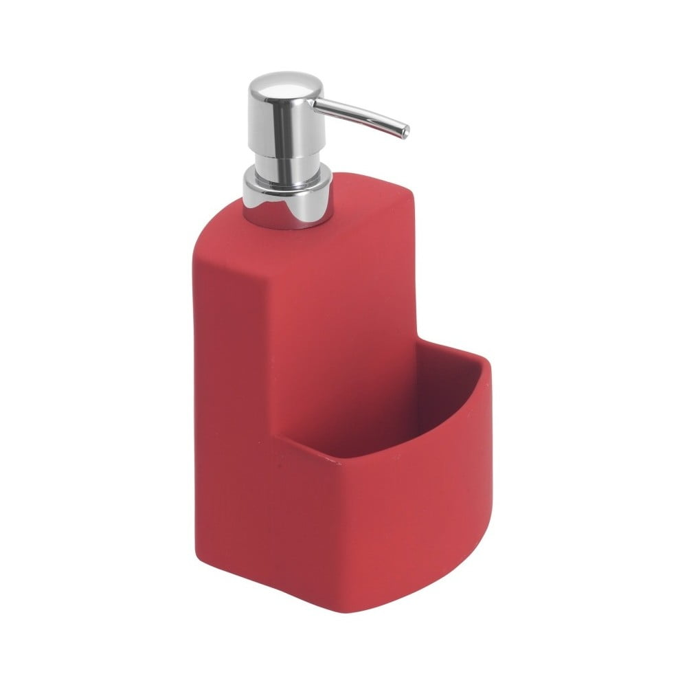 Červený dávkovač na tekuté mydlo Wenko Festival