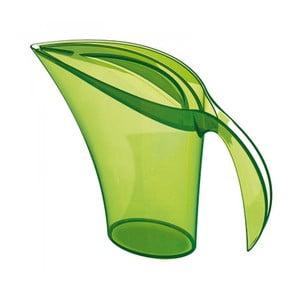 Zelená plastová karafa na vodu Koziol, 1,5 l