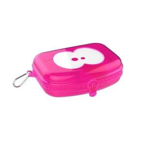 Desiatový box v ružovej farbe Fruitfriends