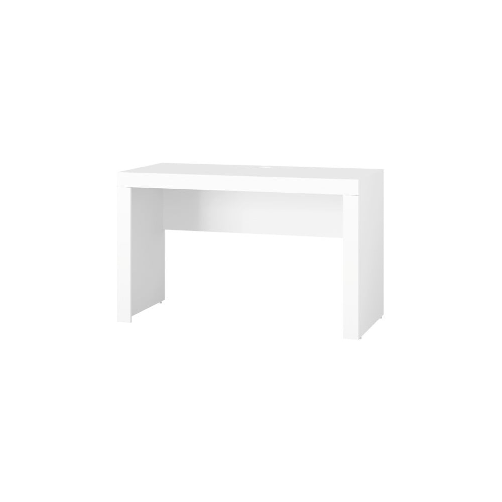 Biely detský pracovný stôl Szynaka Meble Picolo