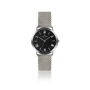 Pánske hodinky s remienkom z antikoro ocele s čiernym ciferníkom Frederic Graff Silver Weisshorn