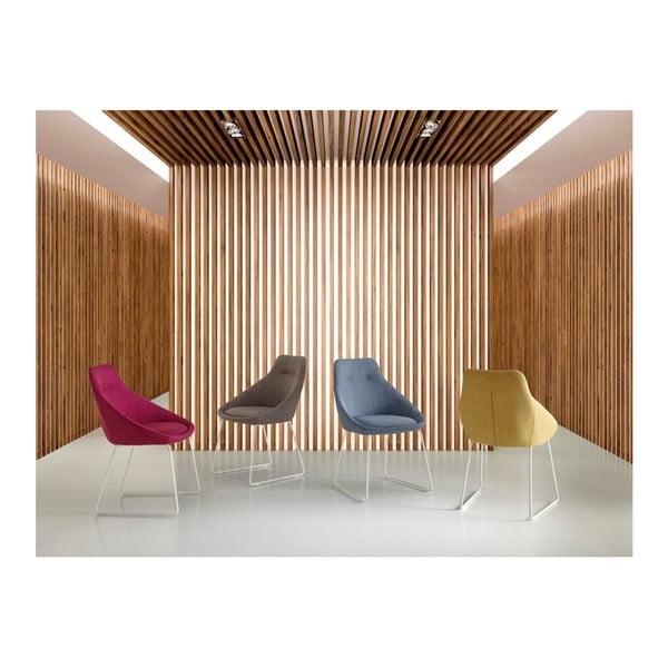 Sada 2 svetlosivých jedálenských stoličiek sømcasa Alba