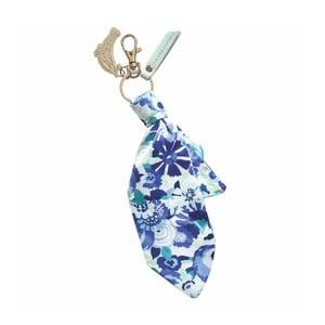 Látková kľúčenka Portico Designs Bleu Floral