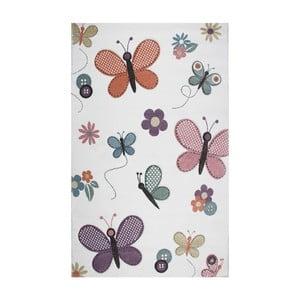 Detský koberec Eco Rugs Butterfly, 120×180 cm