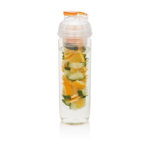 Oranžová fľaša so sitkom XDDesign Trita
