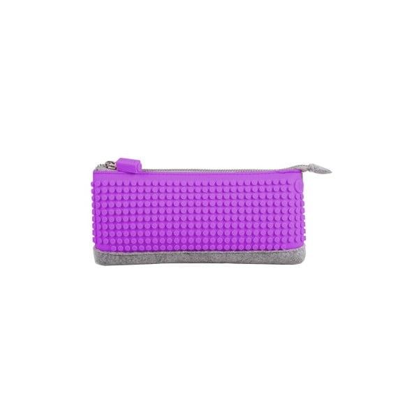 Pixelový perečník, grey/purple