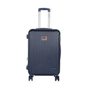Tmavomodrý cestovný kufor LULU CASTAGNETTE Darwin, 71 l