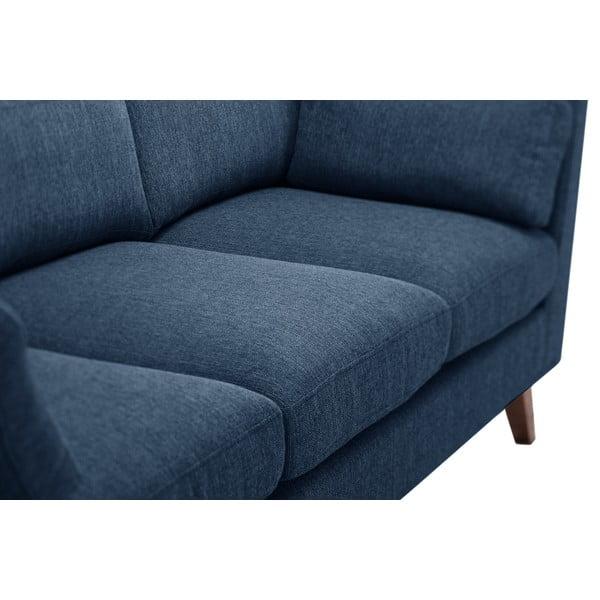 Sada dvou pohovek pre dvoch a pre troch  Elisa, džínsová modrá